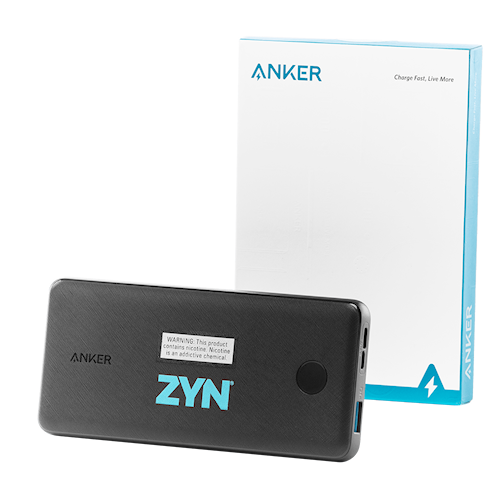 ZYN Branded Power Bank