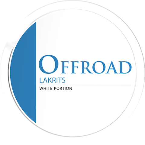 Offroad Lakrits White Dry Portion
