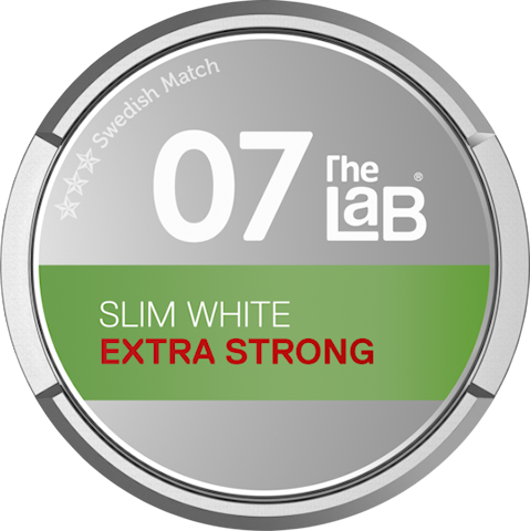 The Lab 07 Slim White Portion Extra Strong