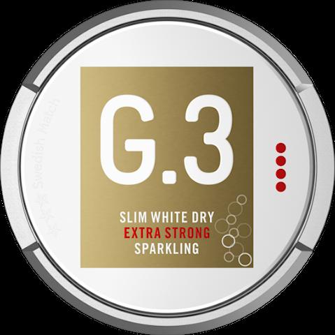 G.3 Sparkling Slim White Dry