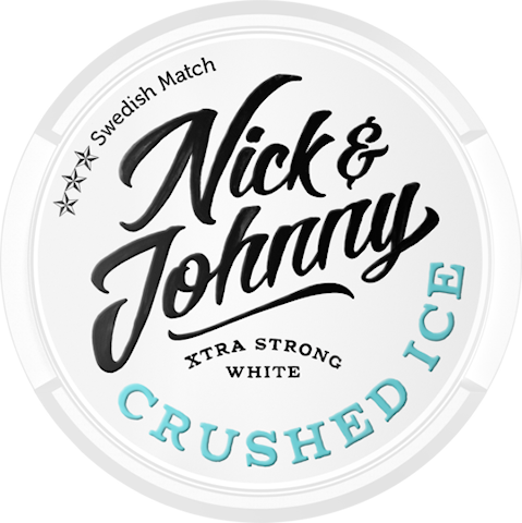 Nick & Johnny Crushed Ice White Extra Strong