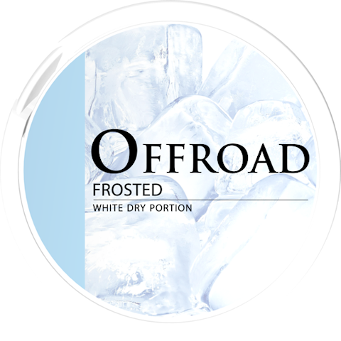 Offroad Frosted White Dry Portion Extra Strong