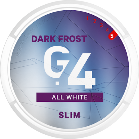 G.4 DARK FROST All White Slim