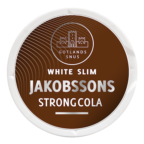 Jakobsson's Strong Cola White Slim