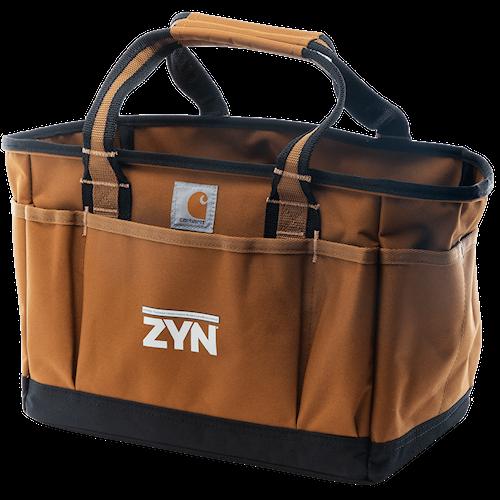 ZYN Branded Carhartt Tool Tote