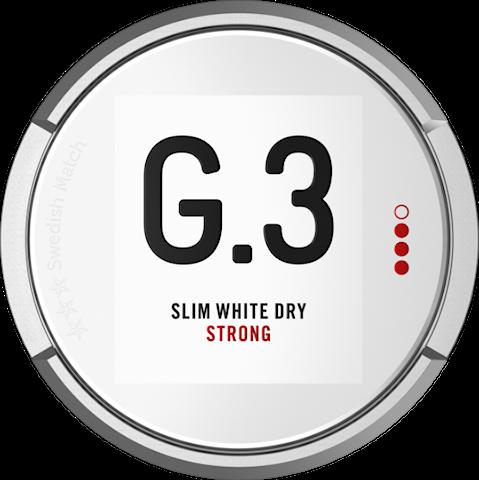 G.3 Slim White Dry