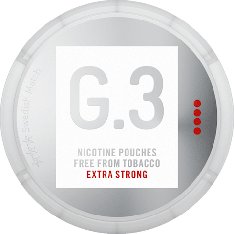 G.3 Nicotine Pouches Extra Strong