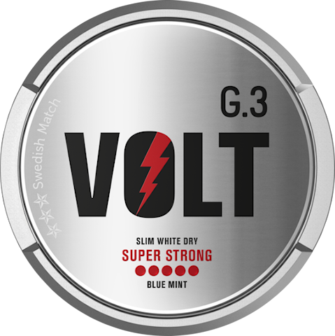 G.3 Volt Slim White Dry Super Strong