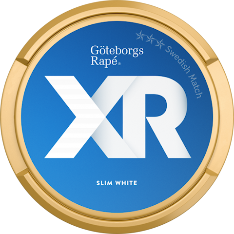 XR Göteborgs Rapé Slim White Portion