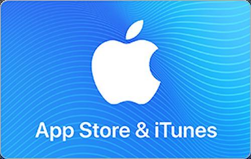 E-Gift Card: App Store & iTunes $50
