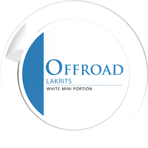 Offroad Lakrits White Portion Mini