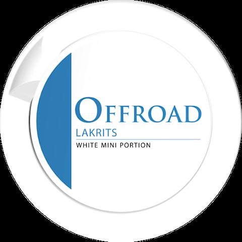 Offroad Lakrits White Portion Mini