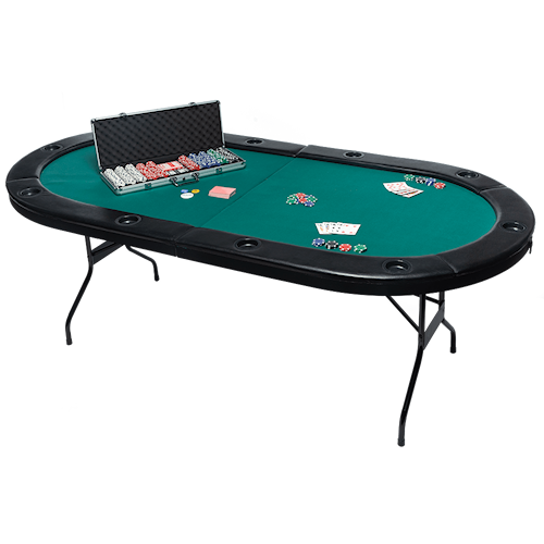 Poker Table + Premium Chip Set