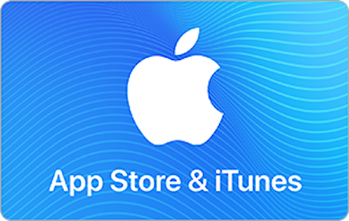 E-Gift Card: App Store & iTunes $25