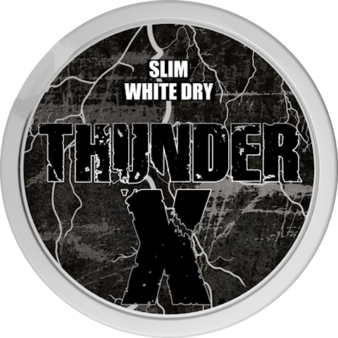 Thunder X White Dry Slim Super Strong