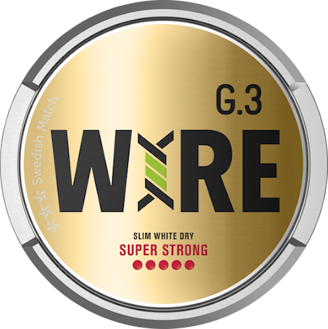 G.3 WIRE Slim White Dry Super Strong