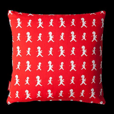 Solstickan kuddfodral pojkar röd 50x50