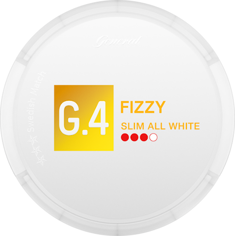 G.4 FIZZY Slim All White
