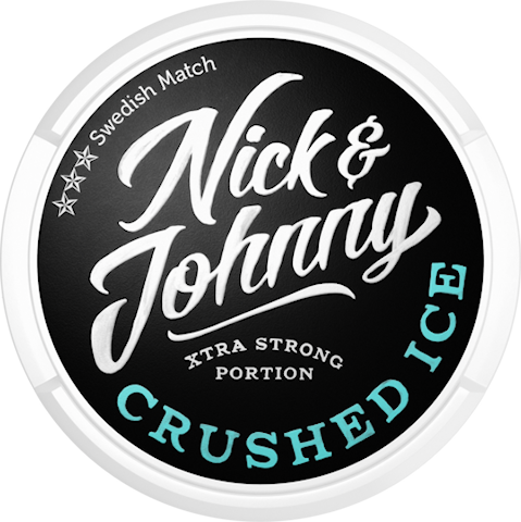 Nick & Johnny Crushed Ice Portion Extra Strong
