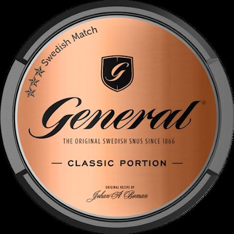 General Original Portion - Senaste produktionen