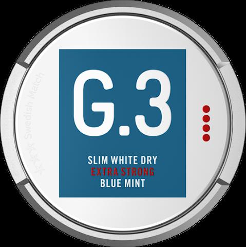 G.3 Blue Mint Slim White Dry