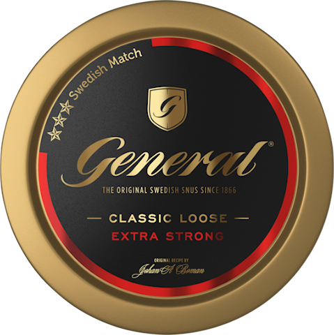 General Loose Snus Extra Strong