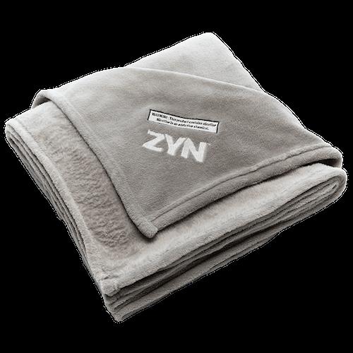 ZYN Branded Sherpa Blanket