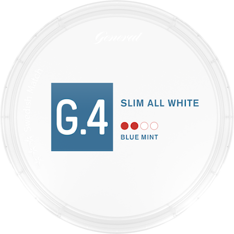 G.4 Blue Mint Slim All White