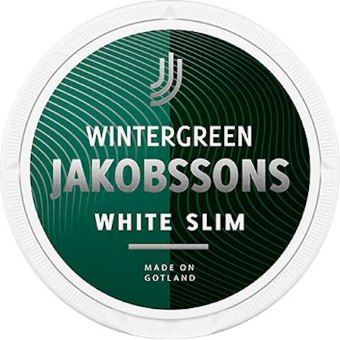 Jakobsson's Wintergreen White Slim