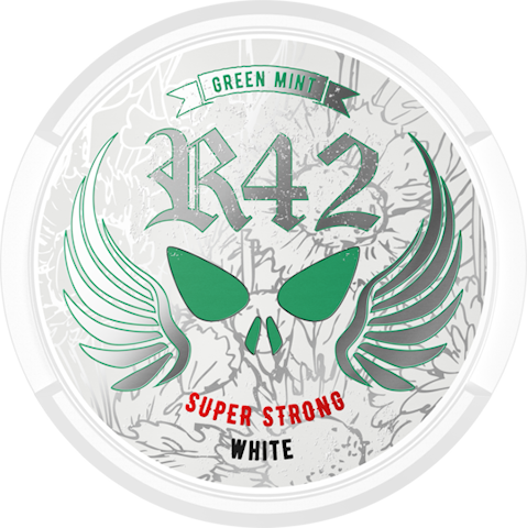 R42 Green Mint White Portion Super Strong