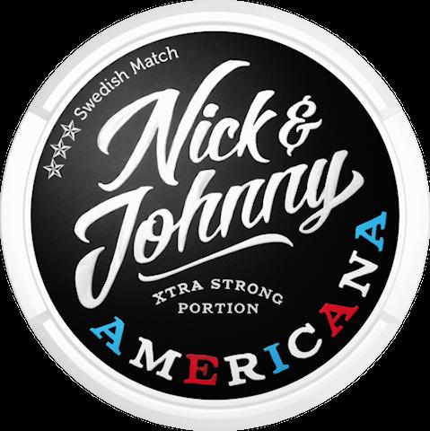 Nick & Johnny Americana Portion Extra Strong
