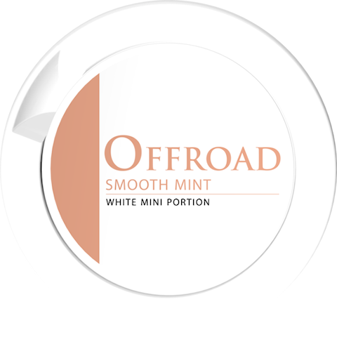 Offroad Smooth Mint White Portion Mini