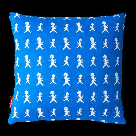 Solstickan kuddfodral pojkar blå 50x50